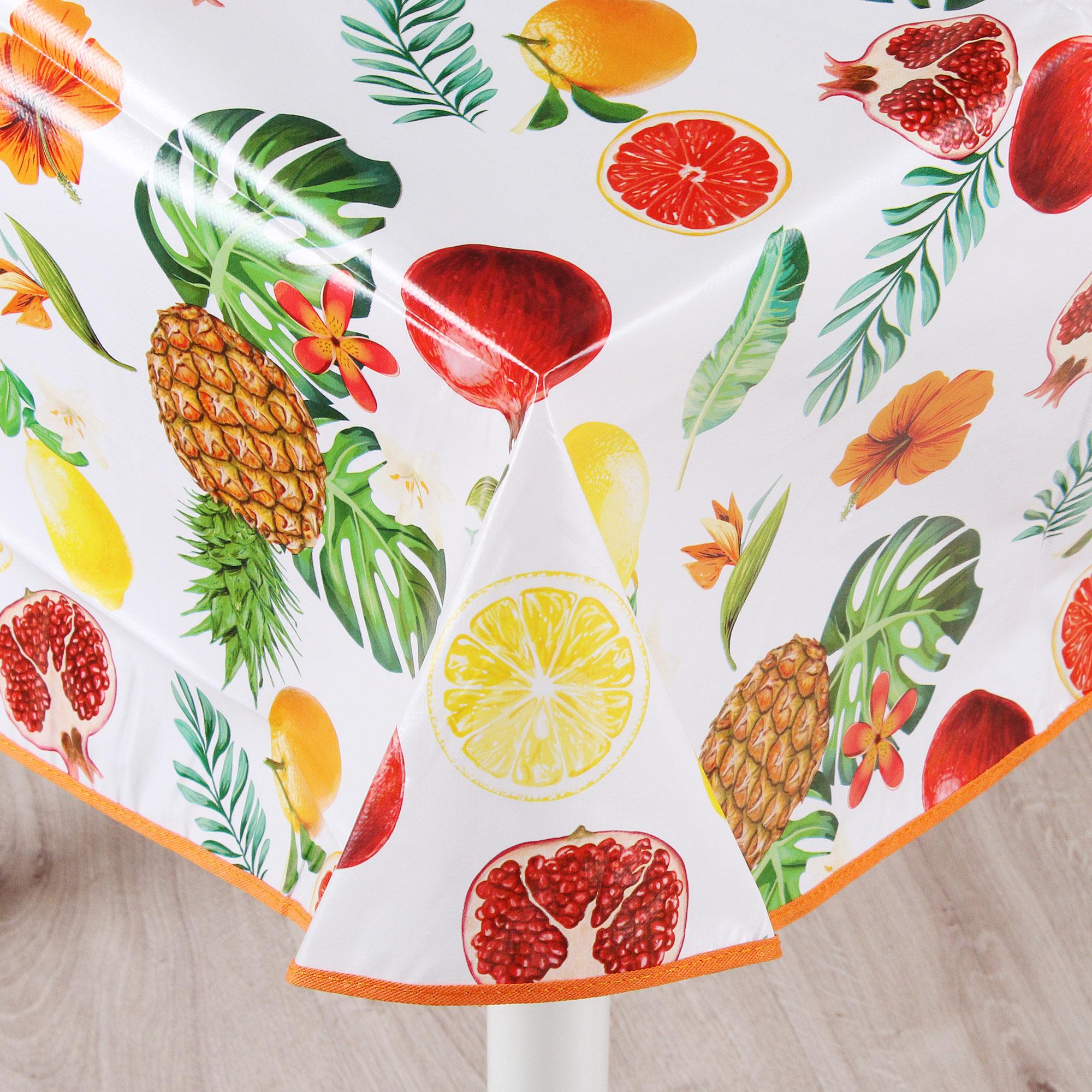 Скатерть пвх Gemitex фрукты 140x180 фото