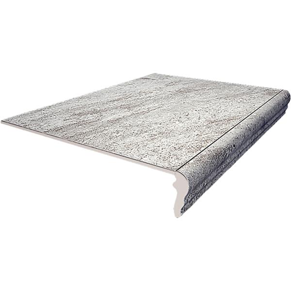 Ступень фронтальная Kerama Marazzi Терраса серый противоскользящий 40,2x30 см SG158700N/GR