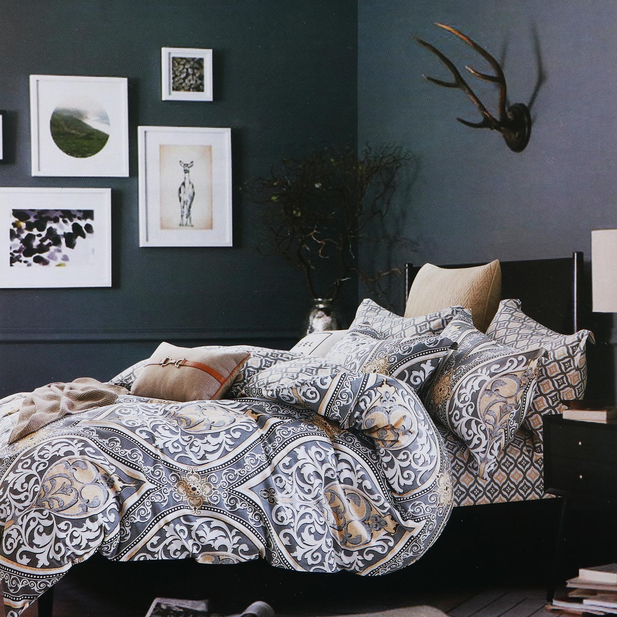 Постельный комплект двуспальный Кэрол 4 предмета берч кэрол зверинец джемрака