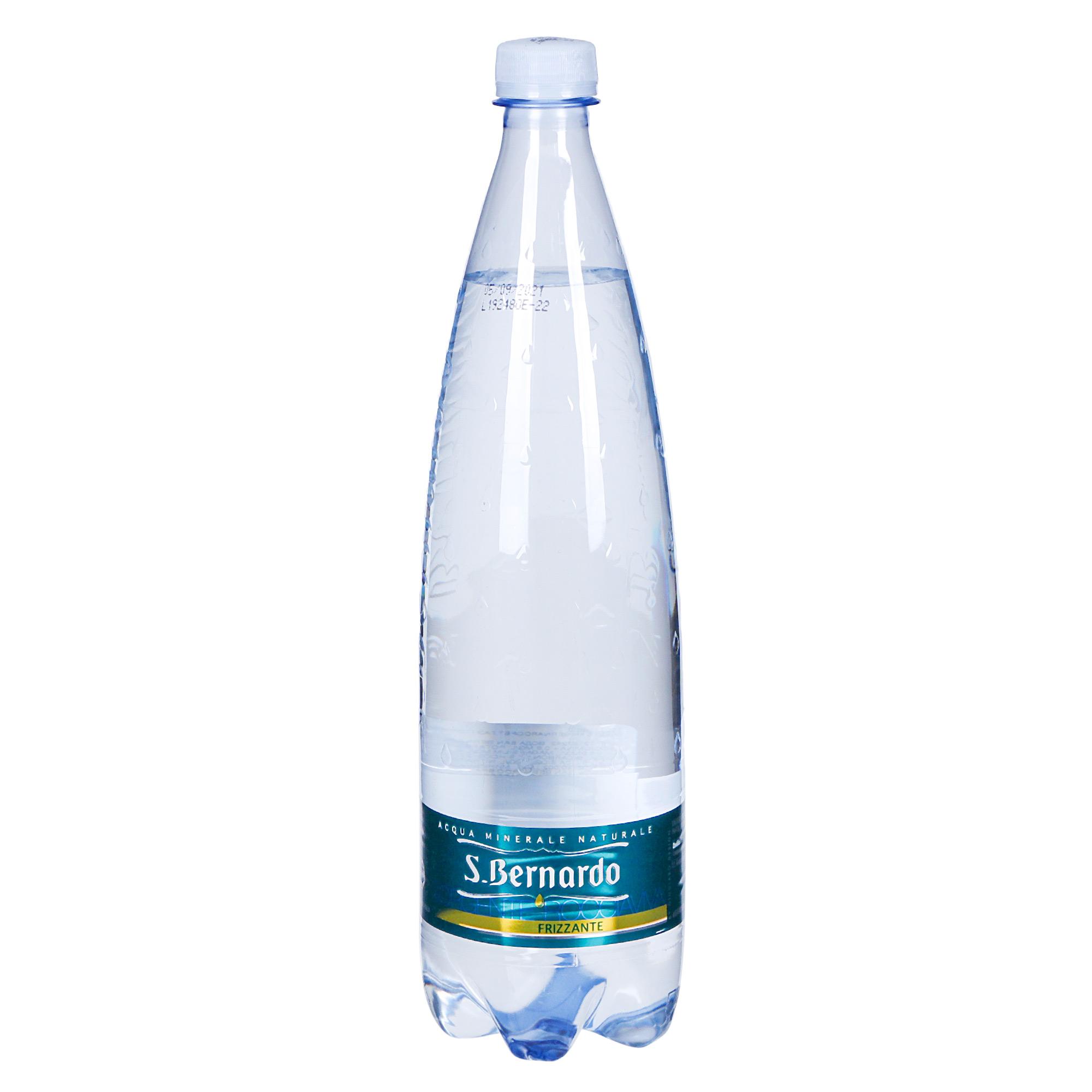 Вода San Bernardo газированная 1 л