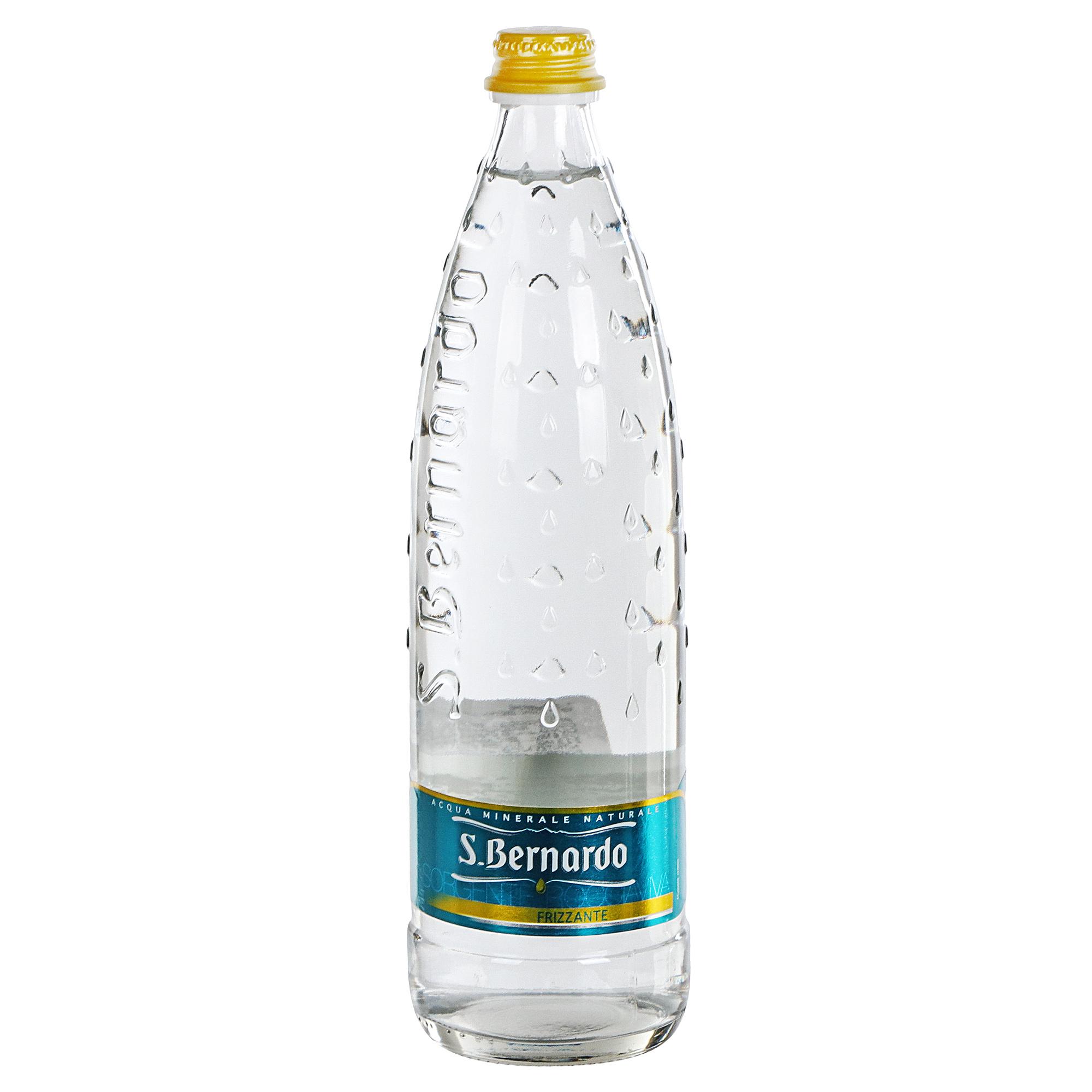 Вода минеральная San Bernardo газированная 0,75 л вода san bernardo газированная 1 л