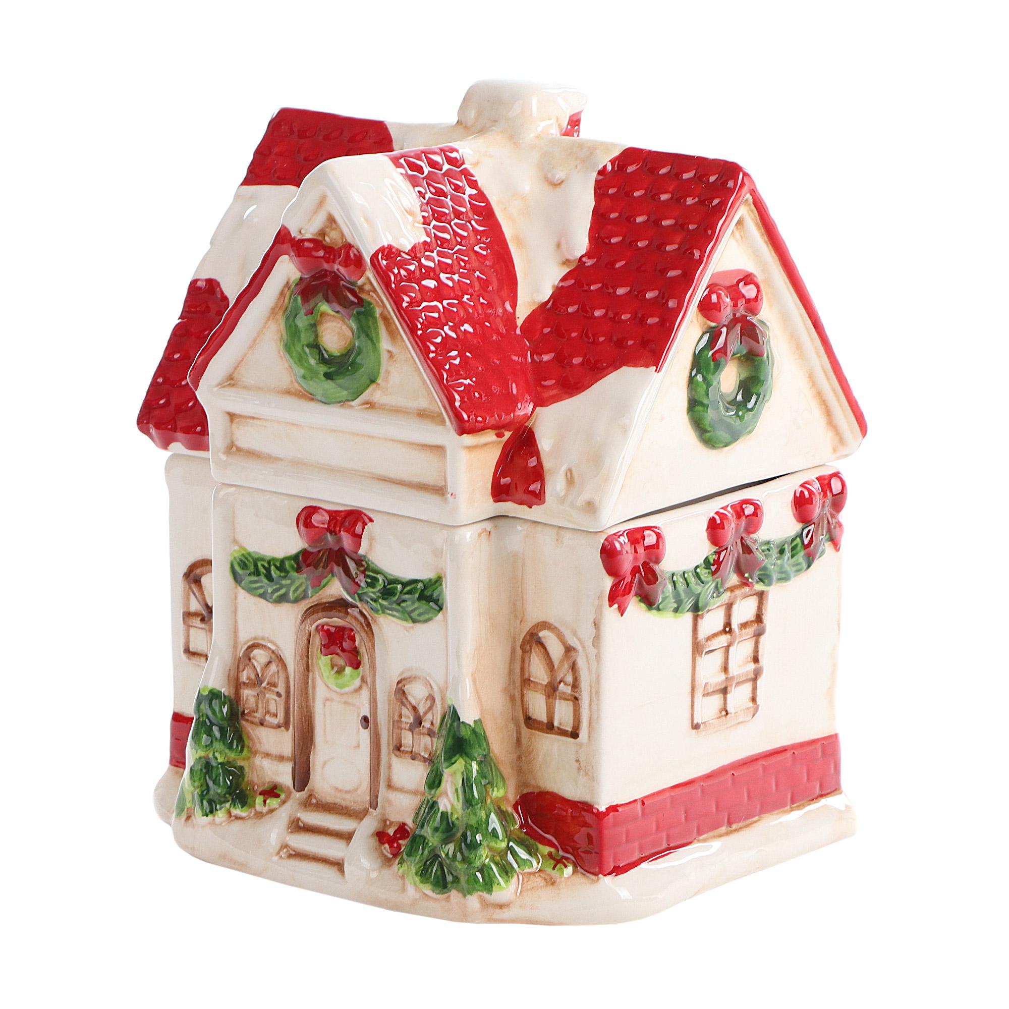 Банка для сладостей Christmas Fairytale Дом 22 см