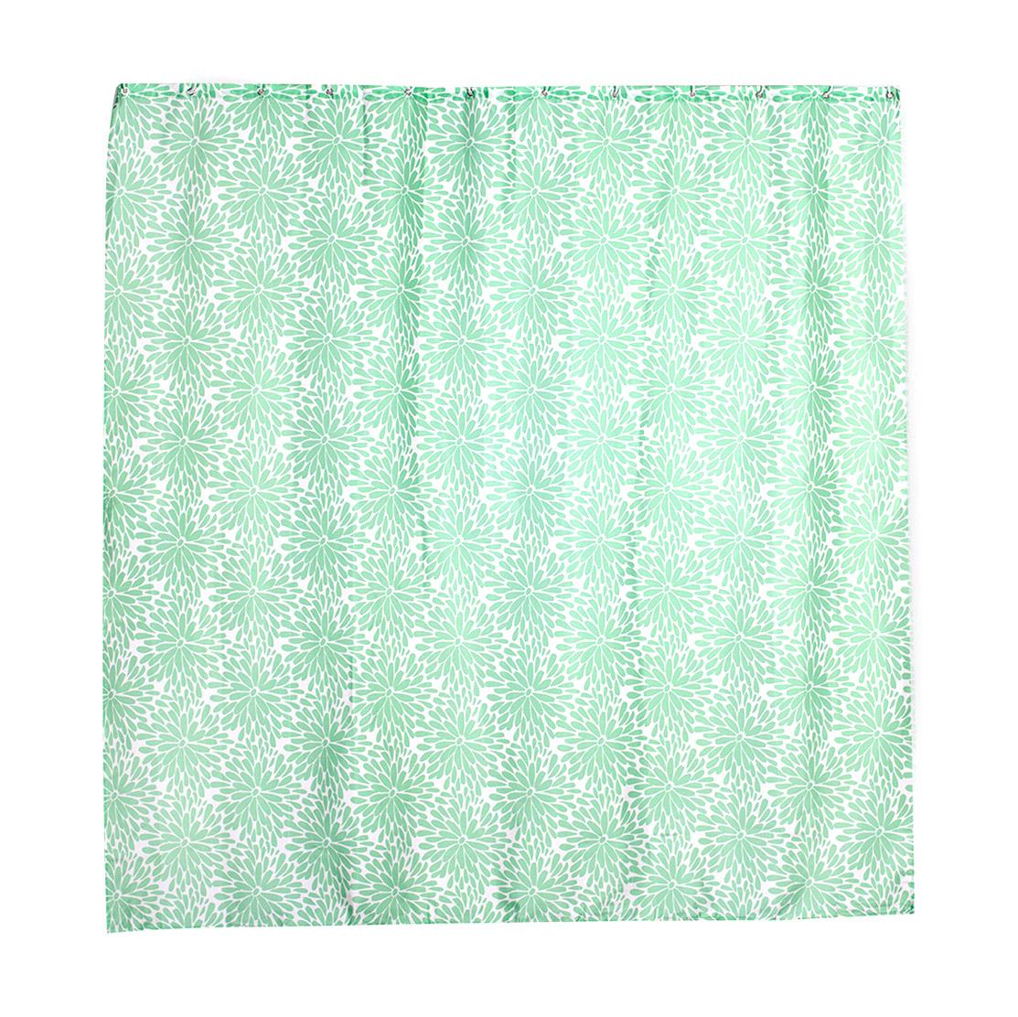 Купить Занавеска штора для ванной комнаты Verran, шторы, зеленый, полиэстер