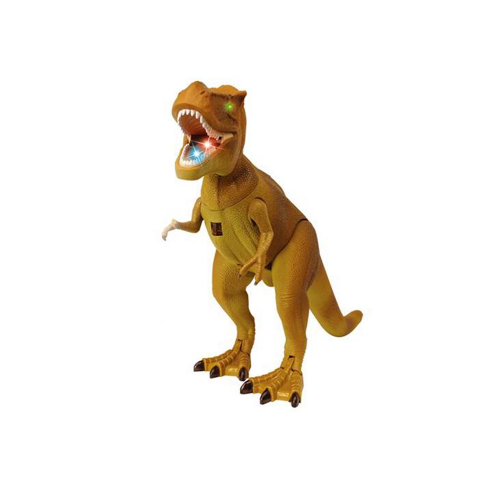 Игрушка ABtoys Тираннозавр на радиоуправлении краски abtoys