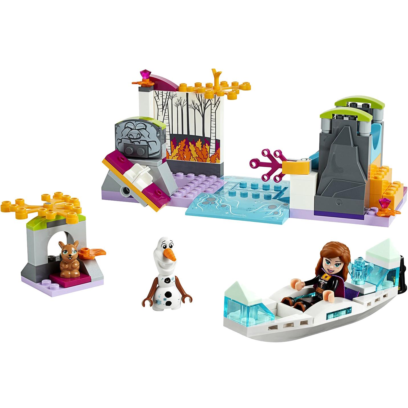 Купить Конструктор Lego Disney Princess Экспедиция Анны на каноэ 41165, пластик, для девочек, Конструкторы, пазлы