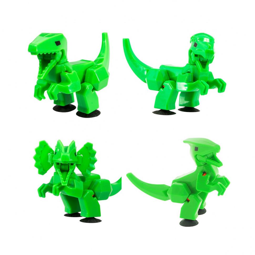 Купить Игрушка Stikbot Динозавр в ассортименте TST622DN, фигурка, пластик