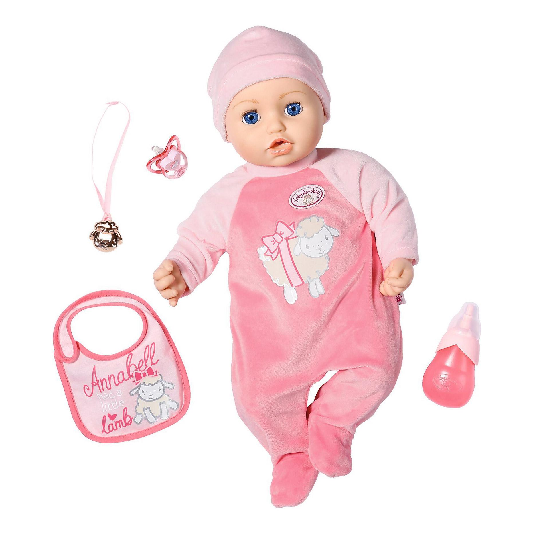 Фото - Кукла интерактивная Zapf Baby Annabell девочка 43 см интерактивная кукла zapf creation baby born 43 см 825 938