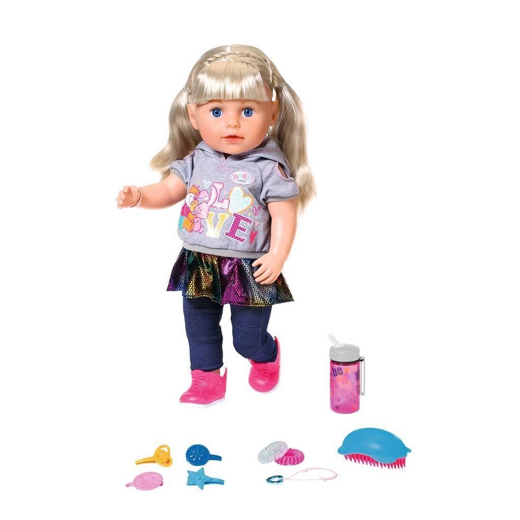Фото - Кукла Zapf Baby Born Сестричка 43 см интерактивная кукла zapf creation baby born 43 см 825 938