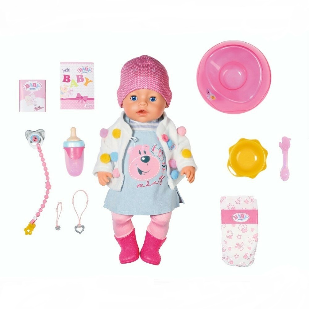 Фото - Кукла Zapf Baby Born Стильная Весна 43 см интерактивная кукла zapf creation baby born 43 см 825 938