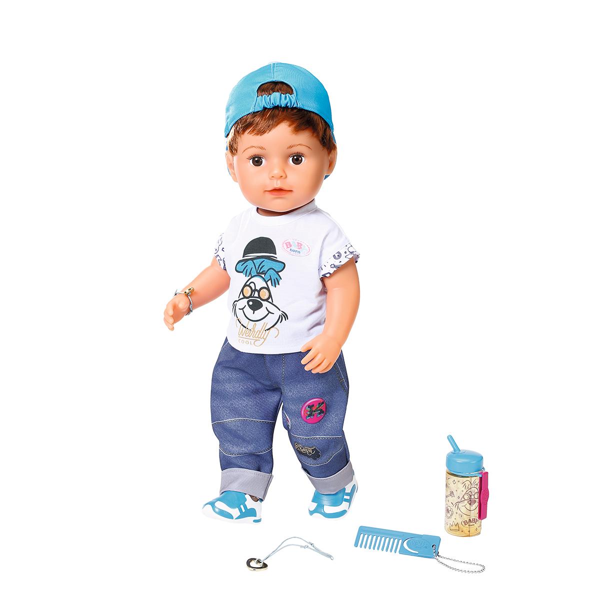 Фото - Кукла Zapf Baby Born Братик 43 см интерактивная кукла zapf creation baby born 43 см 825 938