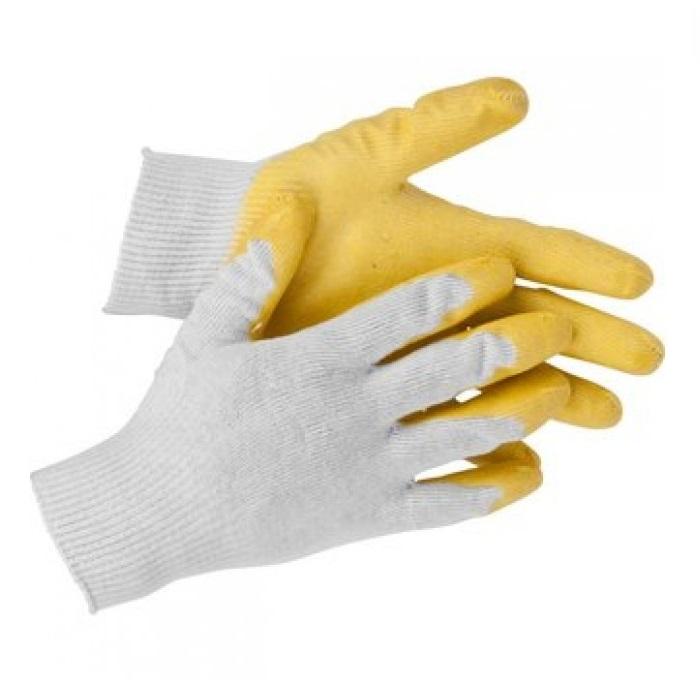 Перчатки Stayer с одинарным латек облив S-M