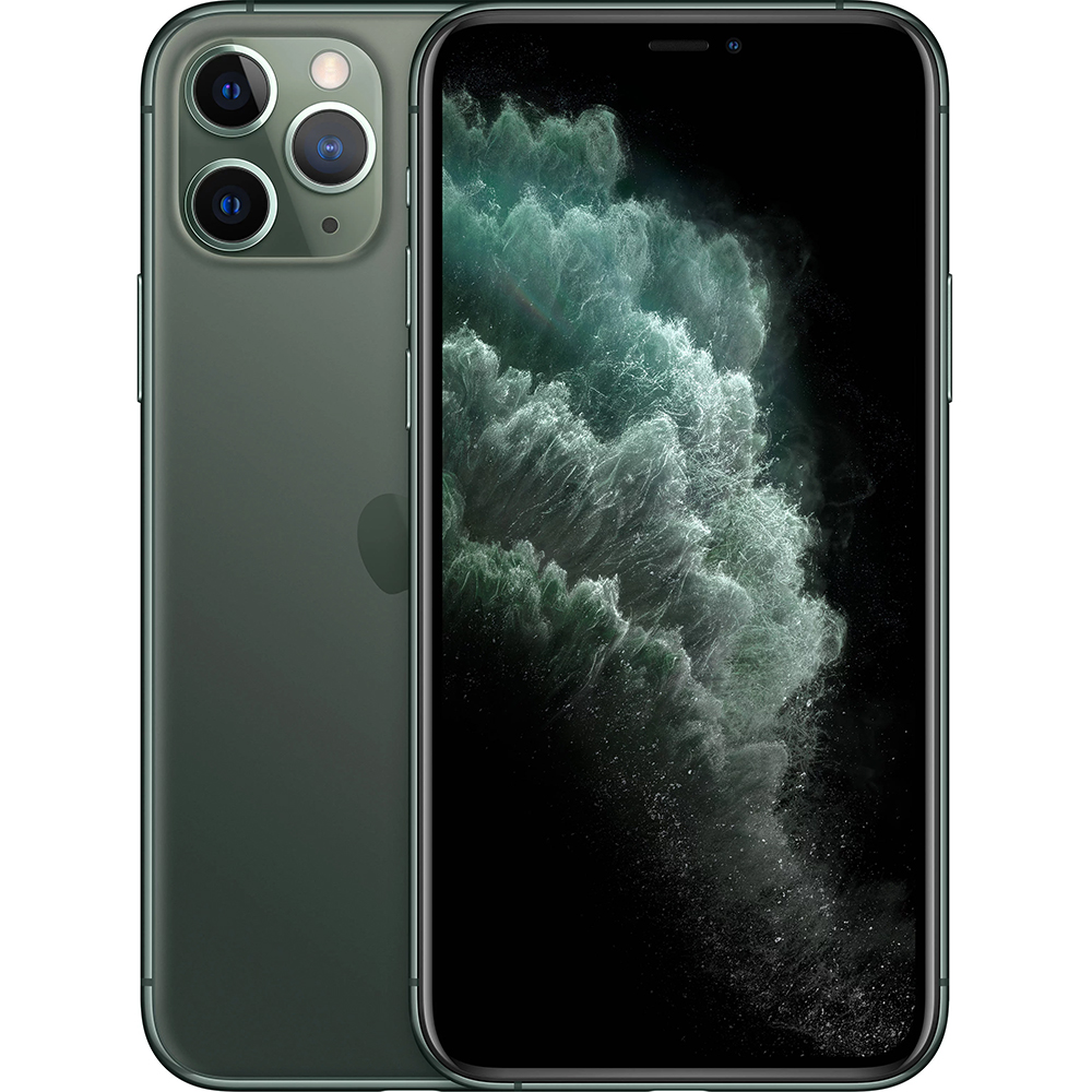 фото Смартфон apple iphone 11 pro max 64 gb midnight green