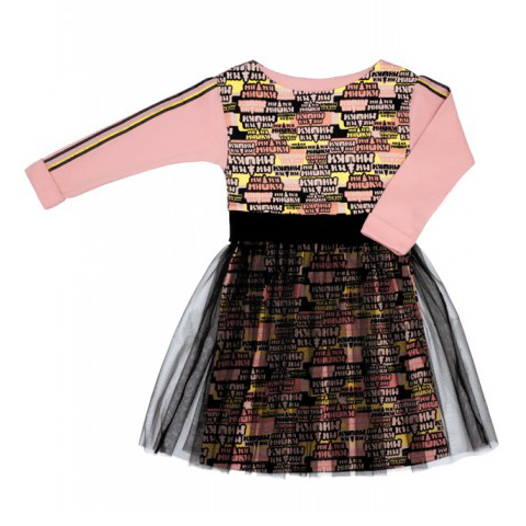 Платье Lucky Child МИ-МИ-МИШКИ с пышной юбкой 80-86 фото