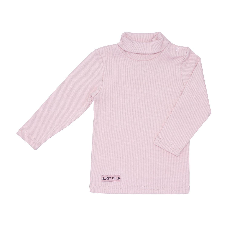 Водолазка Lucky Child Кашкорсе пыльно-розовая 110-116