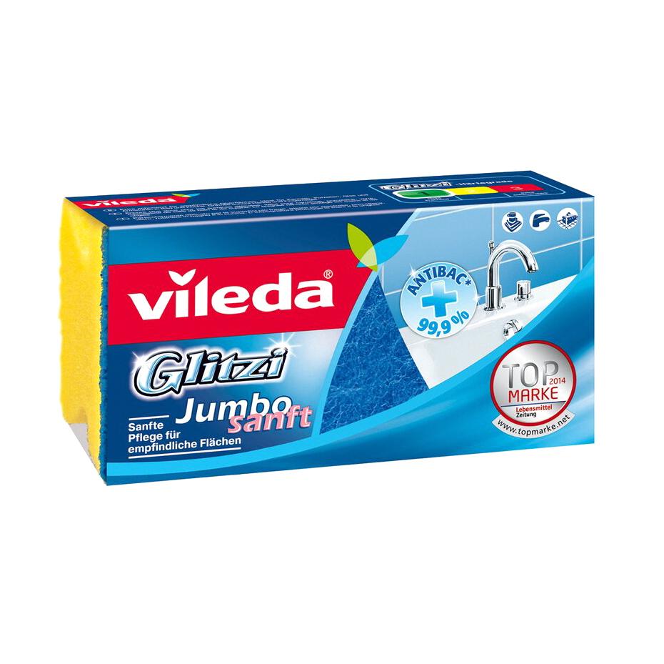 Губка для ванной комнаты Vileda Глитци Джамбо фото
