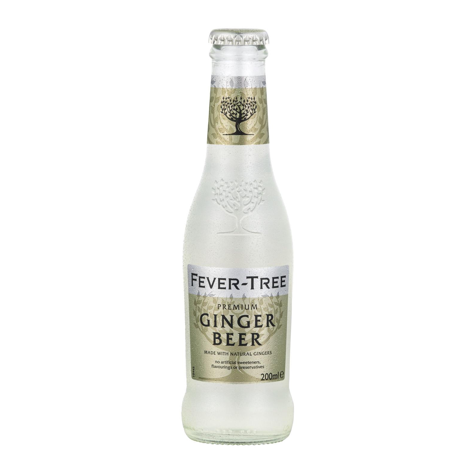 Напиток газированный Fever-Tree Premium Ginger Beer 0,2 л (б/а)