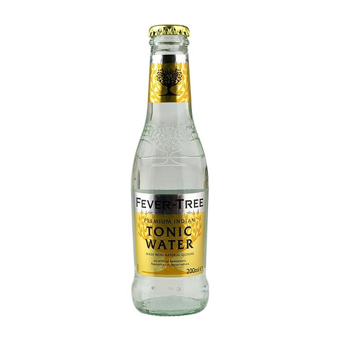 Напиток газированный Fever-Tree Premium Indian Tonic 0,2 л (б/а) тоник schweppes indian tonic