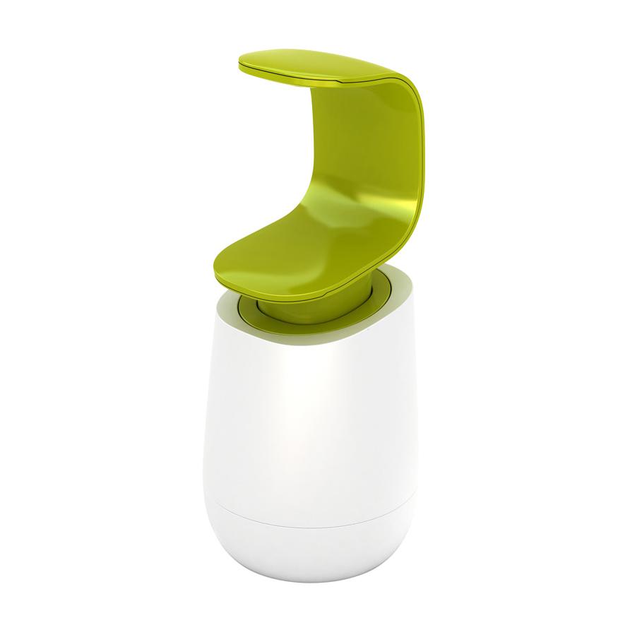 Диспенсер для мыла Joseph C-Pump белый, зеленый