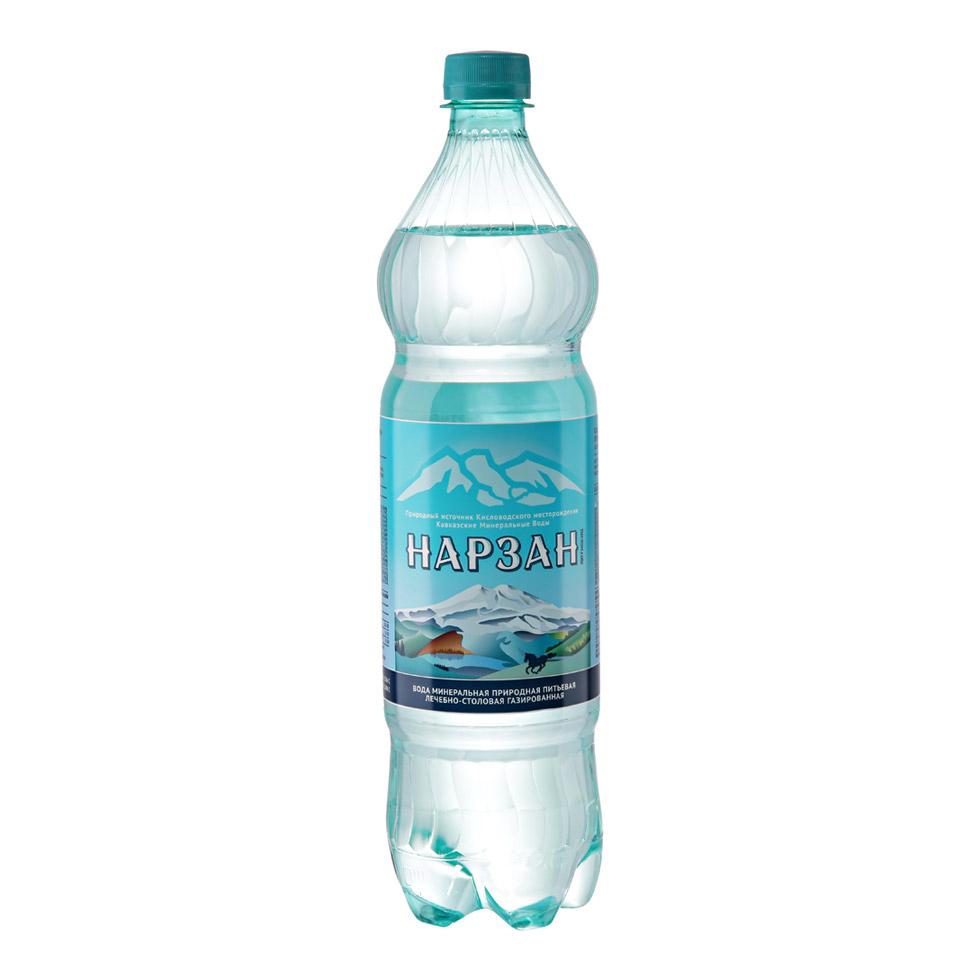 Фото - Вода минеральная Нарзан газированная сульфатная магниево-натриевая 1,5 л минеральная вода zagori газированная стекло 0 75 л