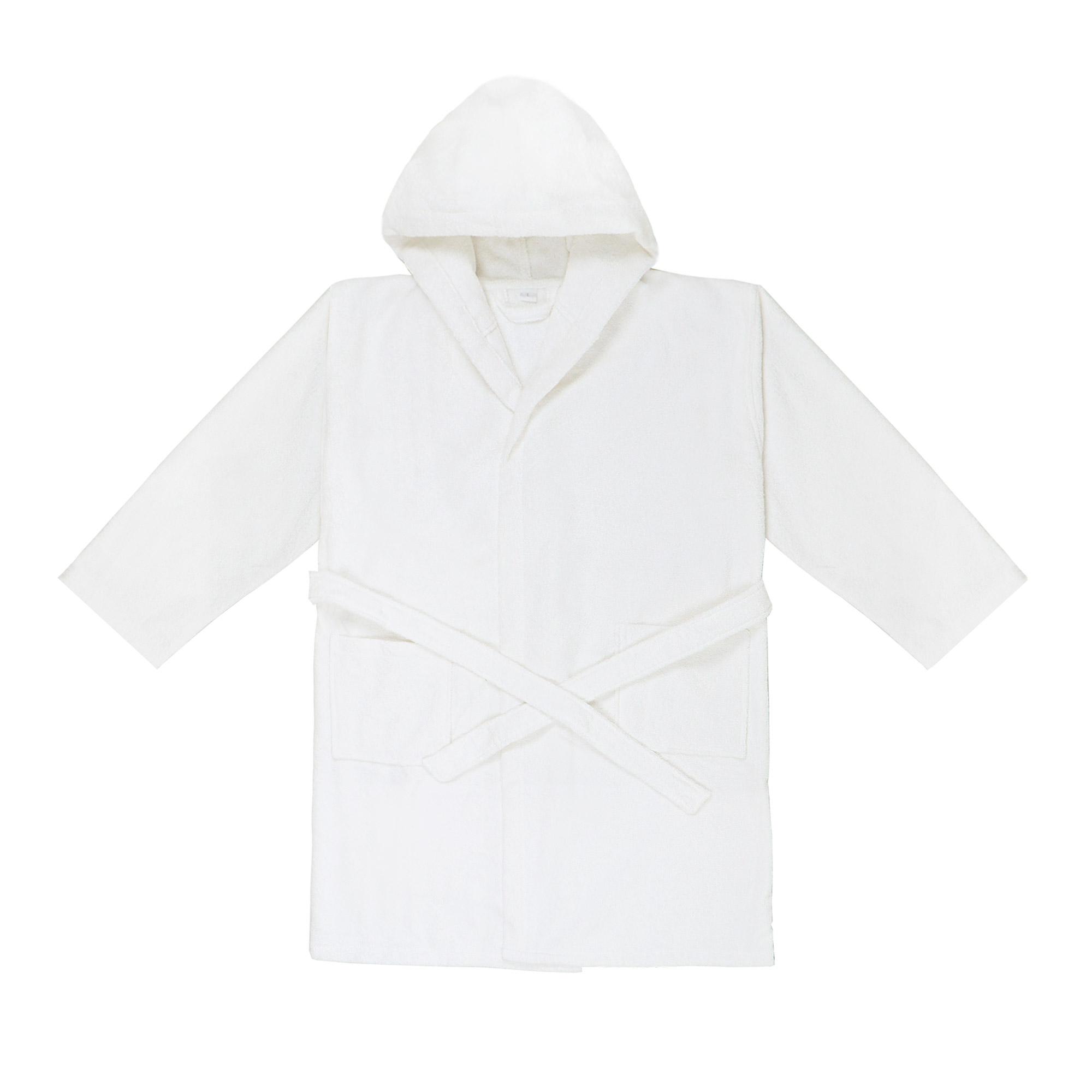 Халат Bahar короткий махровый белый размер xl фото