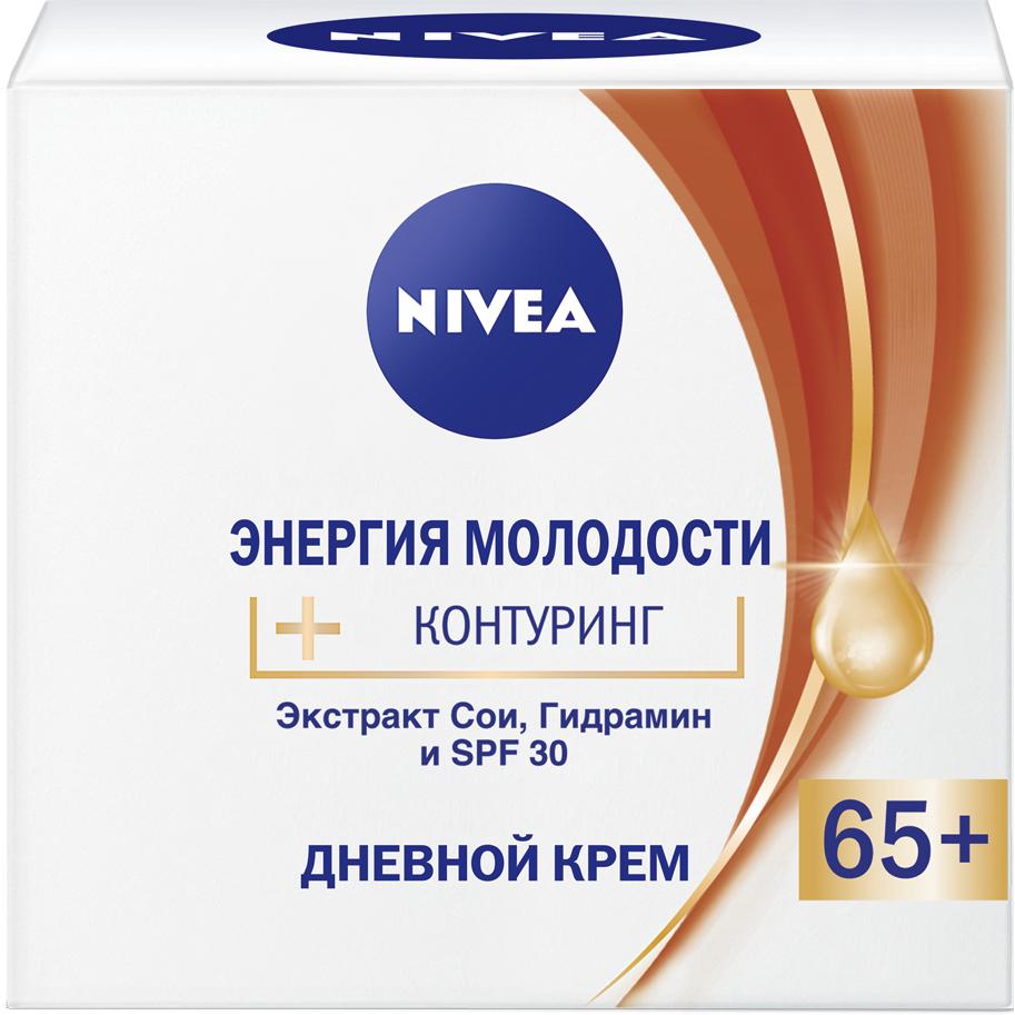 Крем Nivea Энергия молодости 65+ дневной 50 мл антивозрастной дневной крем 45 nivea энергия молодости 50 мл