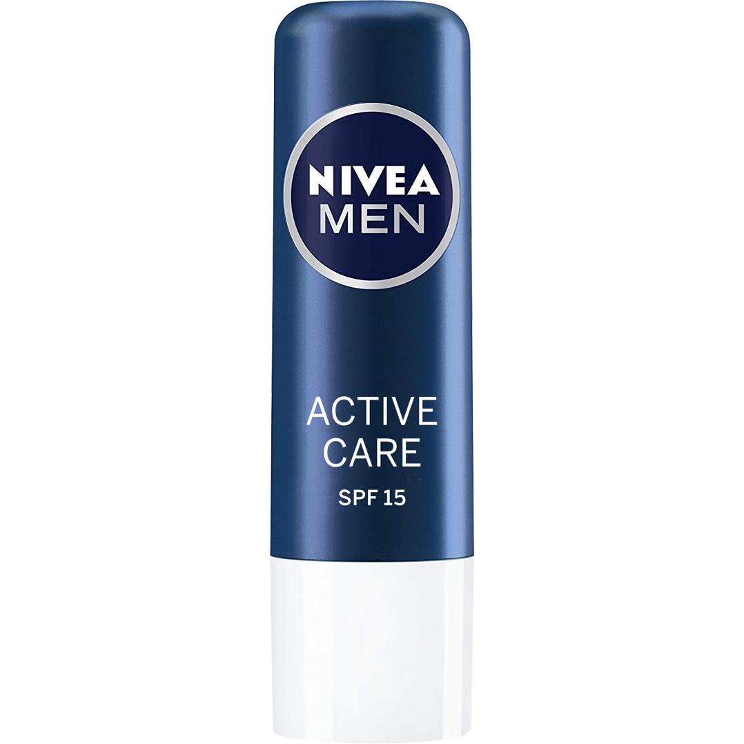 Бальзам для губ Nivea Активный уход для мужчин 5,5 мл недорого