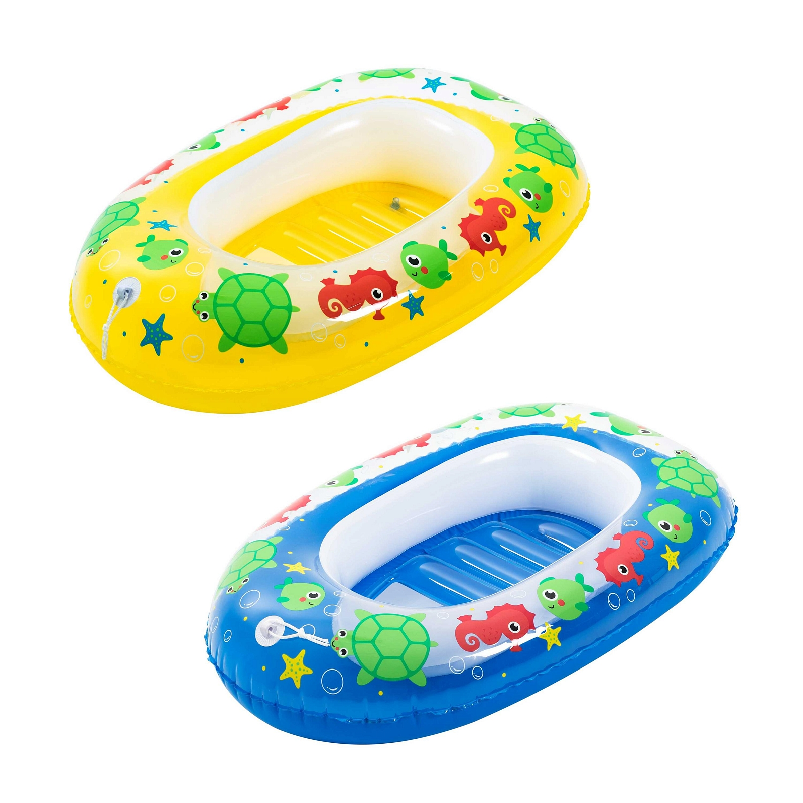 Лодочка надувная Bestway 102х69см в двух цветах лодочка надувная bestway 34085 bw голубая рыбка