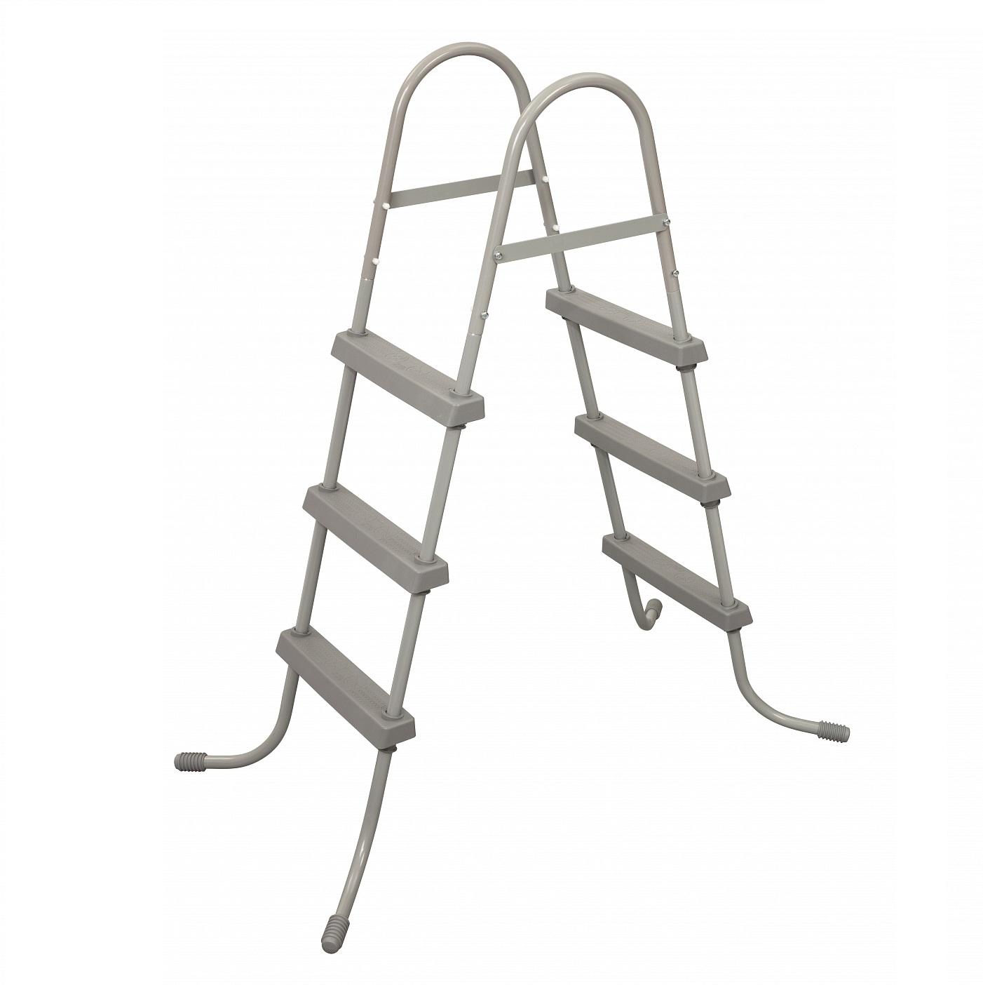 Фото - Лестница для бассейнов Bestway 107 см. аксессуар bestway 58037