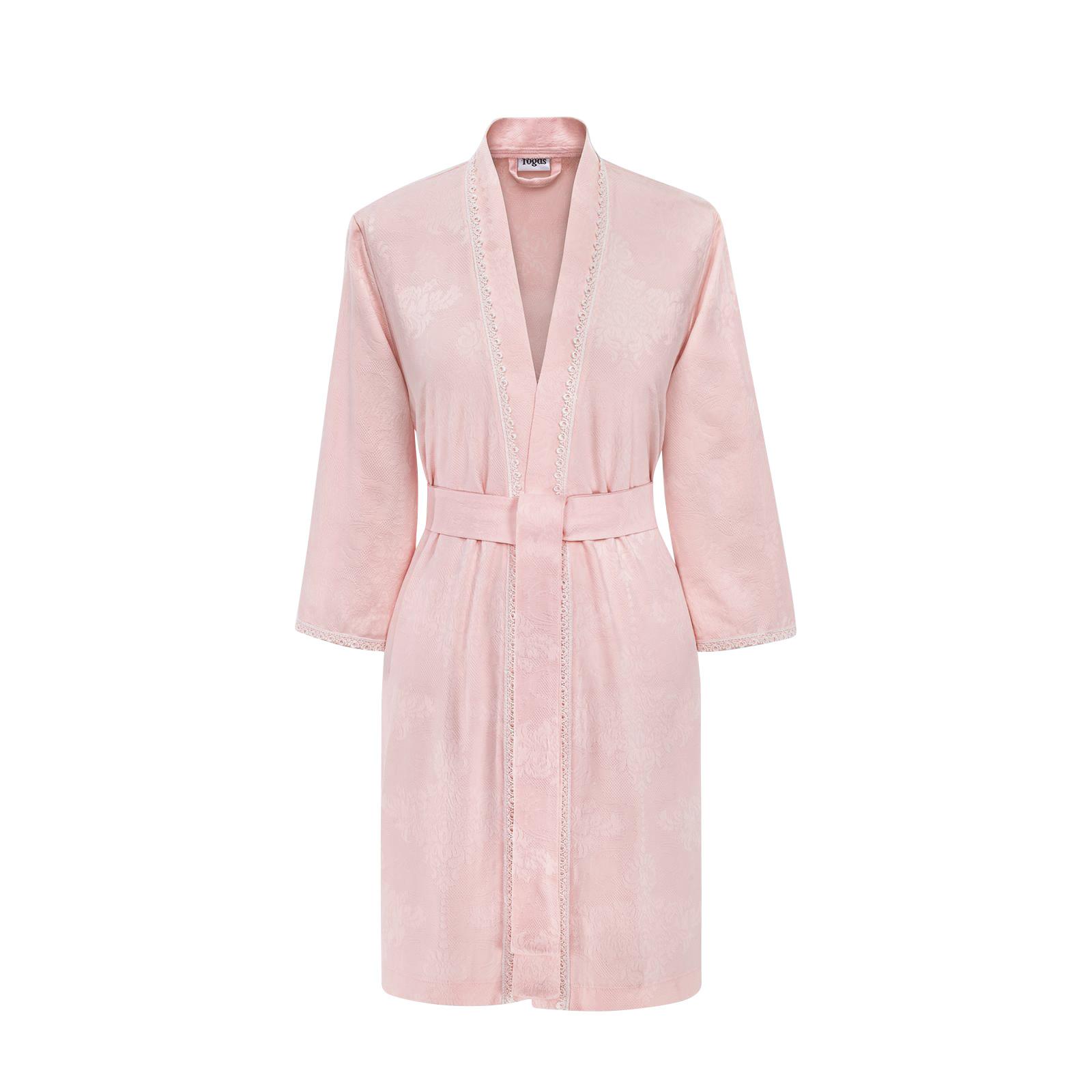 Фото - Халат Togas Дорис светло-розовый м /46/ коврик для ванной togas дорис розовое 60x90