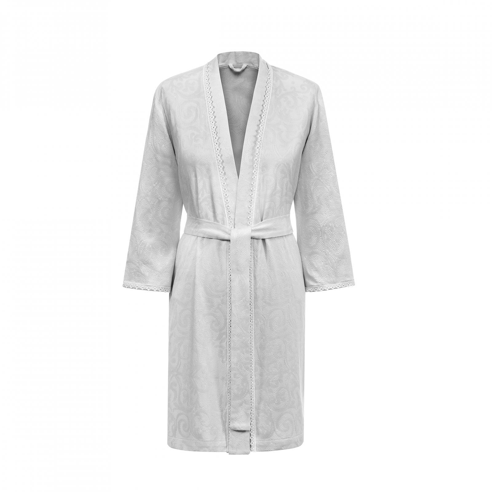 Фото - Халат Togas Дорис серый м /46/ коврик для ванной togas дорис розовое 60x90