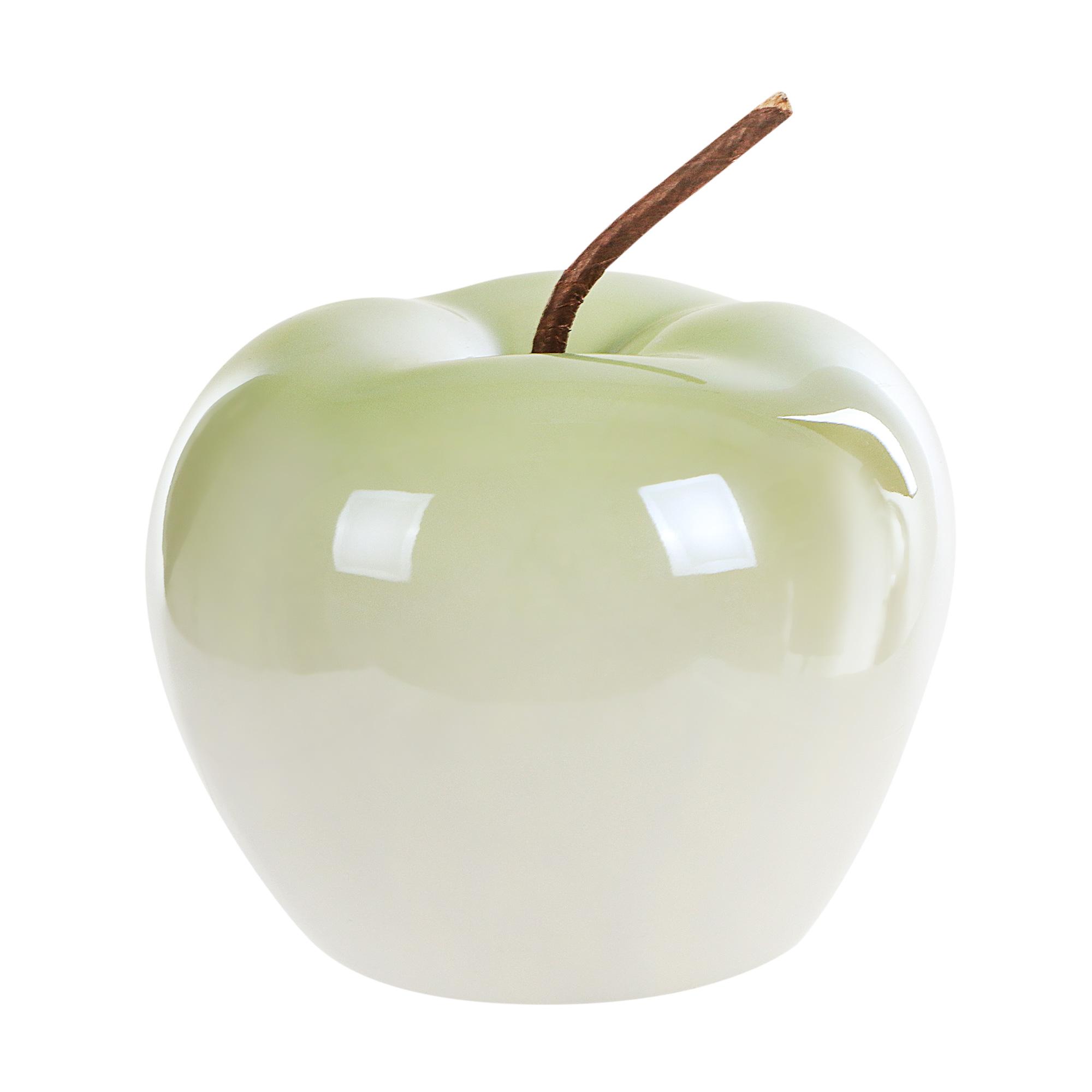 Яблоко декоративное Goldbach 12.5см зелёное
