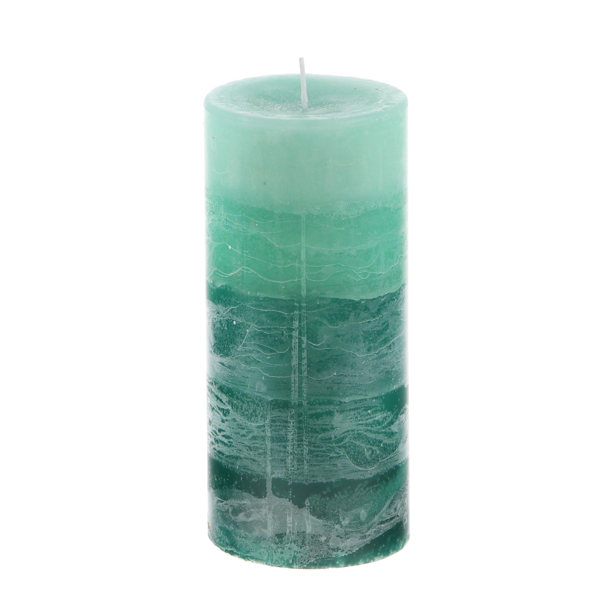 Свеча ароматическая Sunford зелёный чай 6.8х15см фото