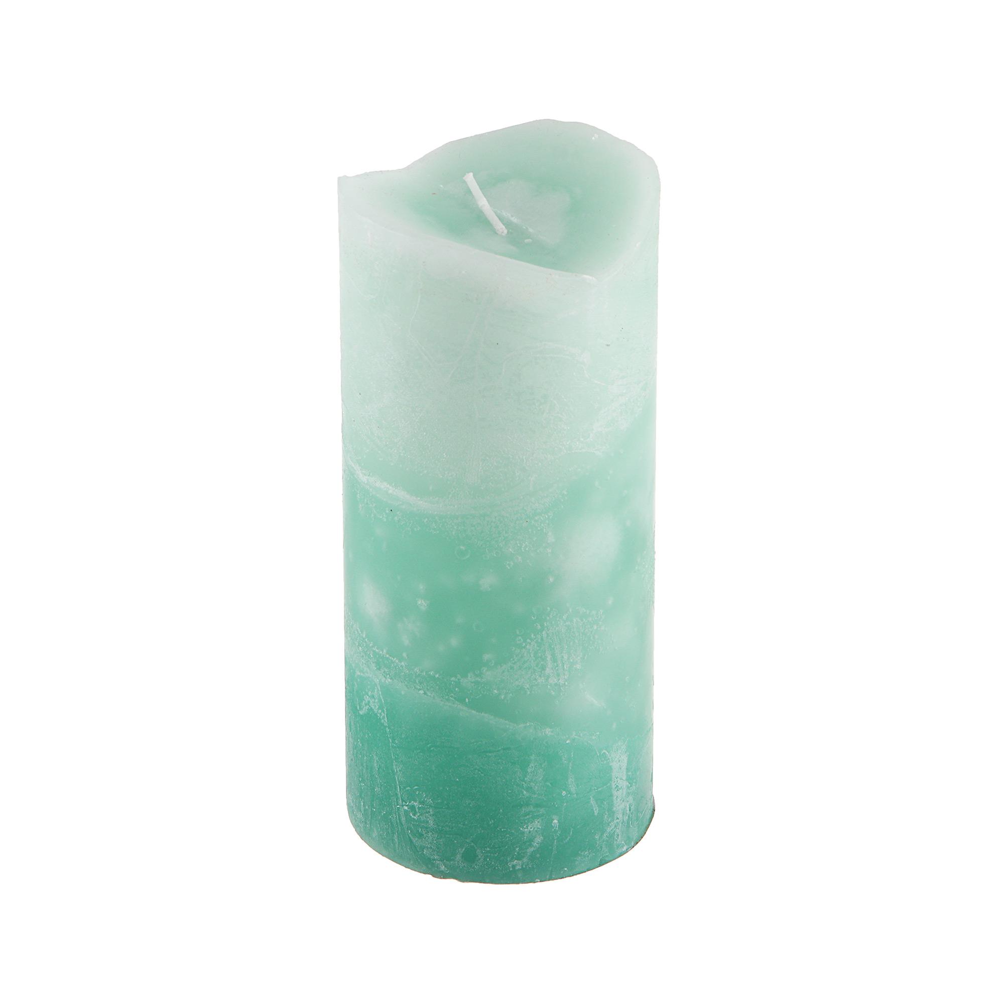 Свеча ароматическая гиацинт Sunford 6.8х15см зеленая