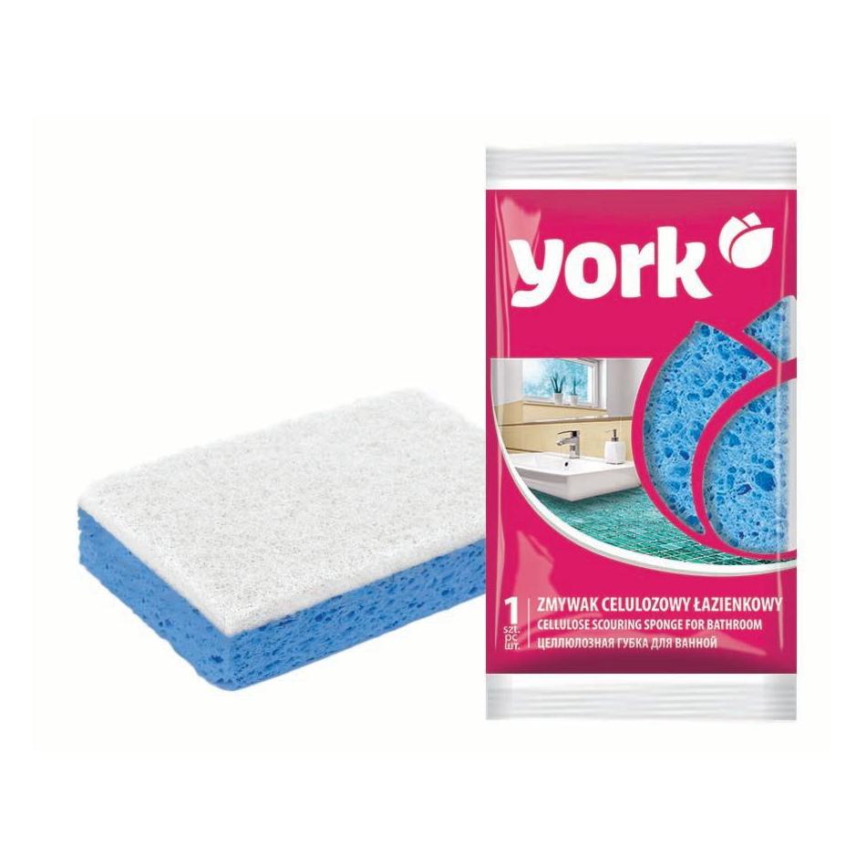 Губка для посуды York Hygienic целлюлоза 1 шт фото