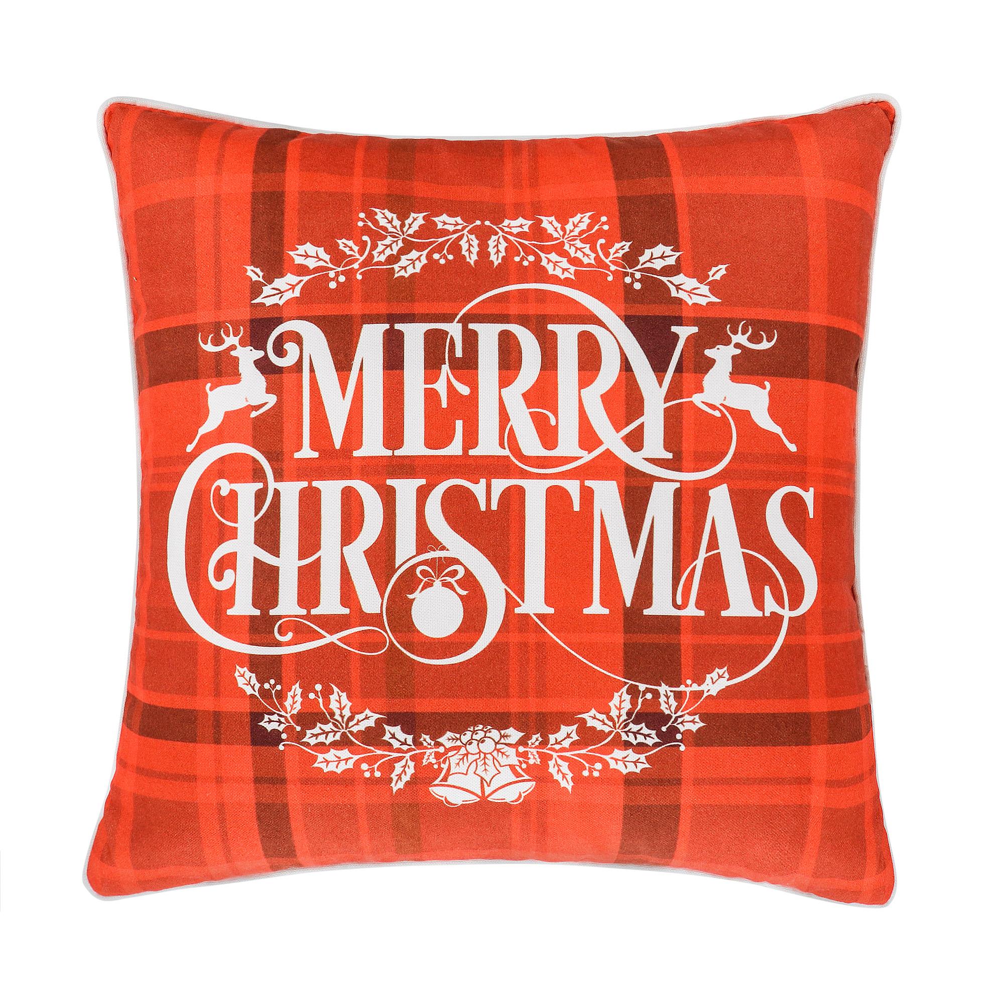 Подушка декоративная Apolena 45х45 merry christmas