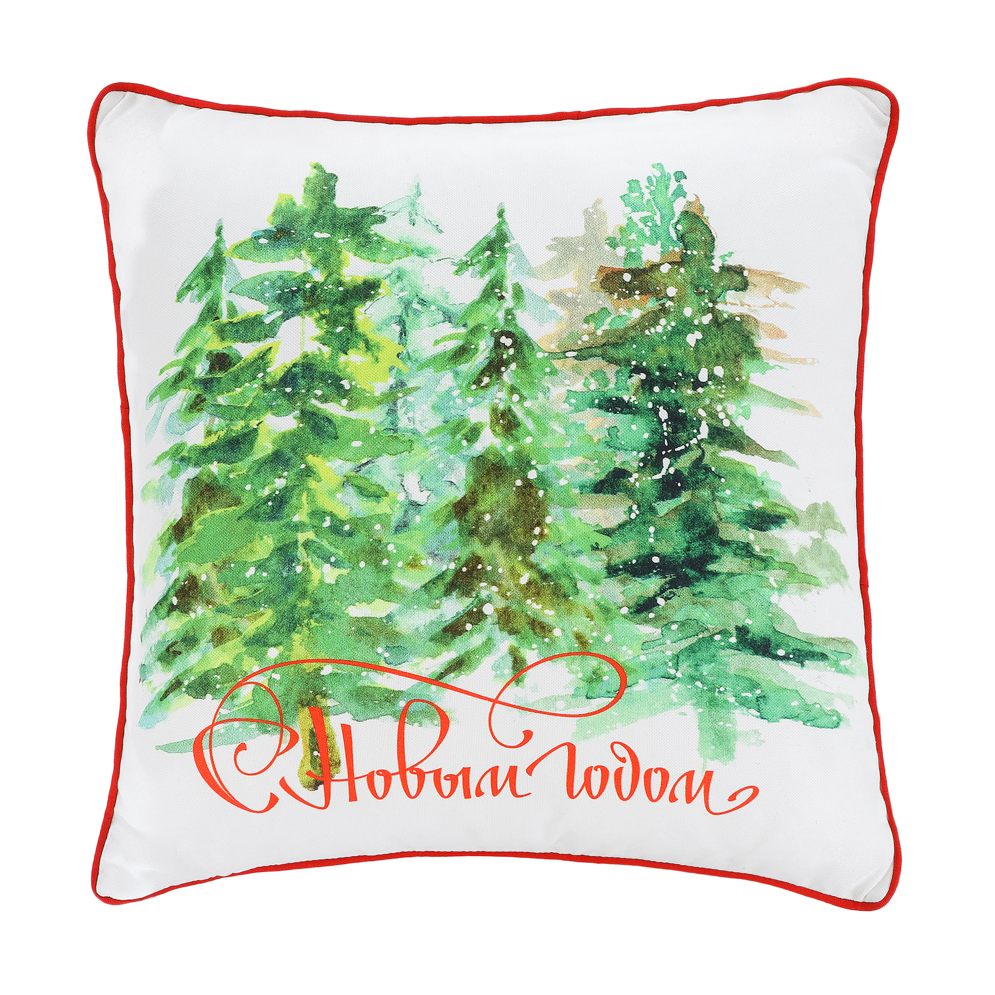 Подушка декоративная Apolena 45х45 елки недорого