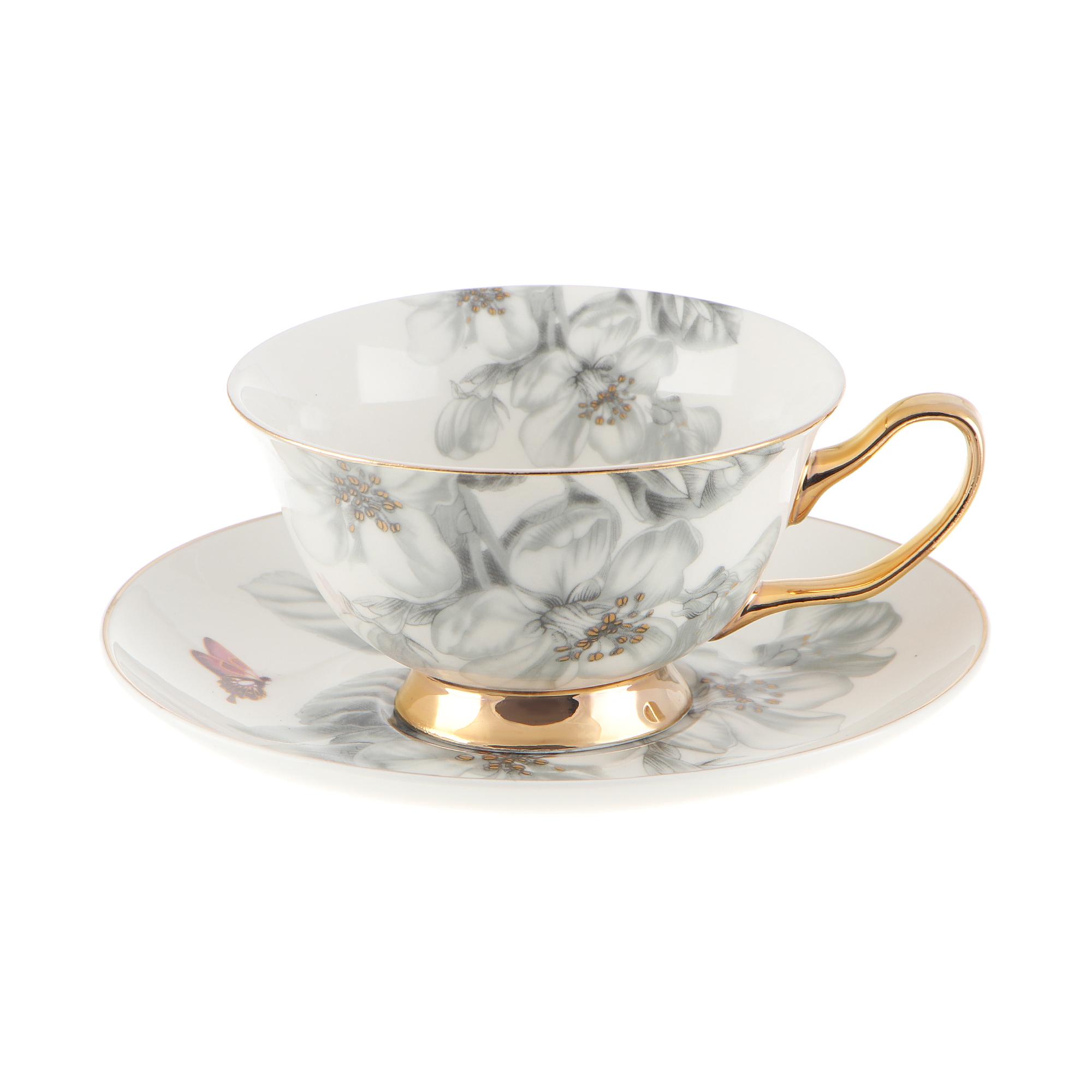 Набор чайных пар Lianfeng Венера 200 мл 6 шт набор чайных пар 200 мл 6 шт bernadotte набор чайных пар 200 мл 6 шт