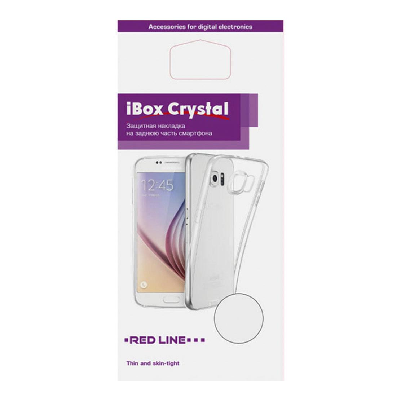 Чехол Red Line iBox Crystal для Xiaomi Mi 9 Lite, прозрачный чехол red line ibox crystal для xiaomi mi 9 lite прозрачный