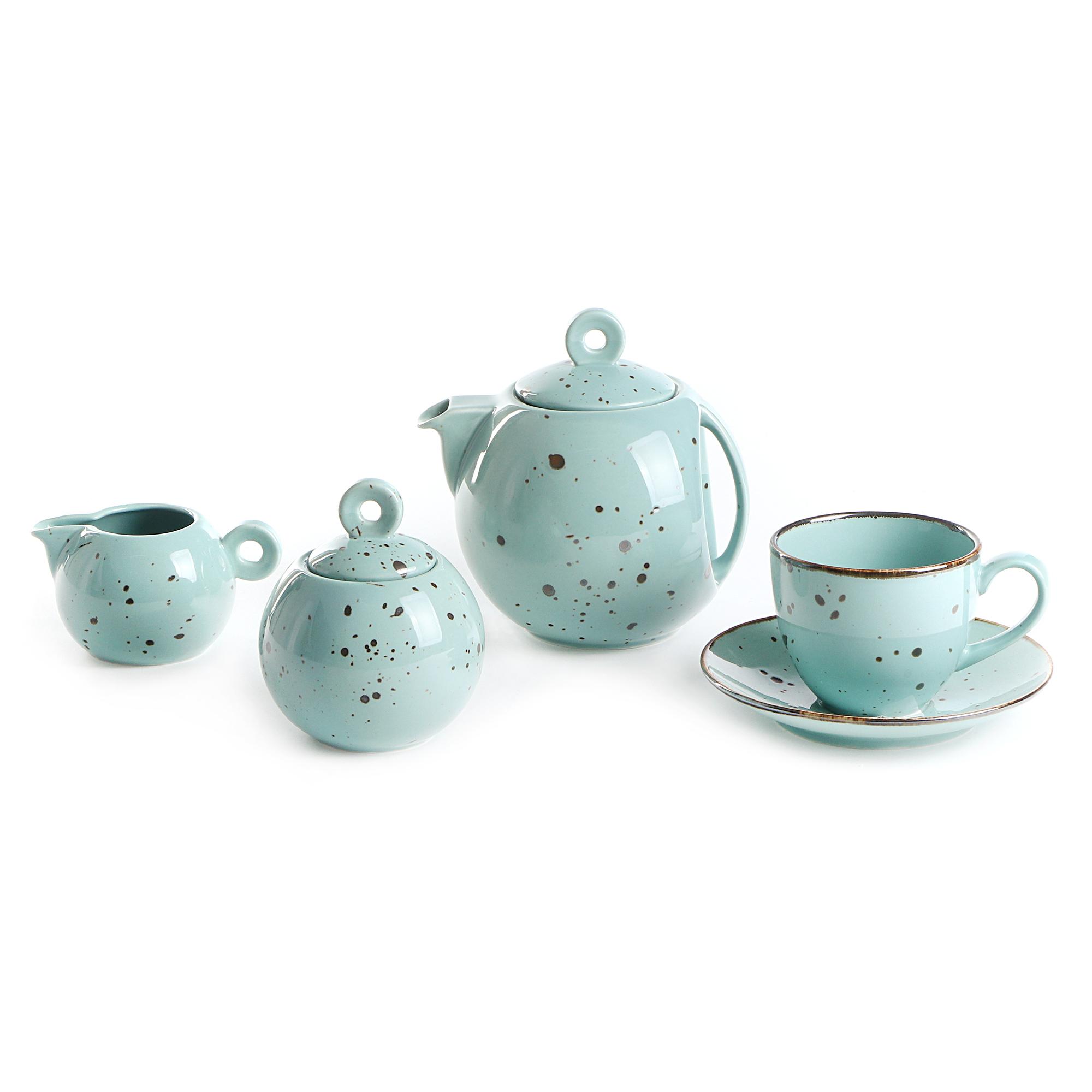 Чайный сервиз Top Art Коттедж Тиффани 15 предметов