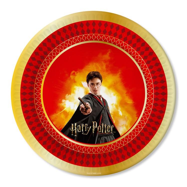 Набор бумажных тарелок Harry Potter 18 см 6 штук набор магнитов harry potter wizardry