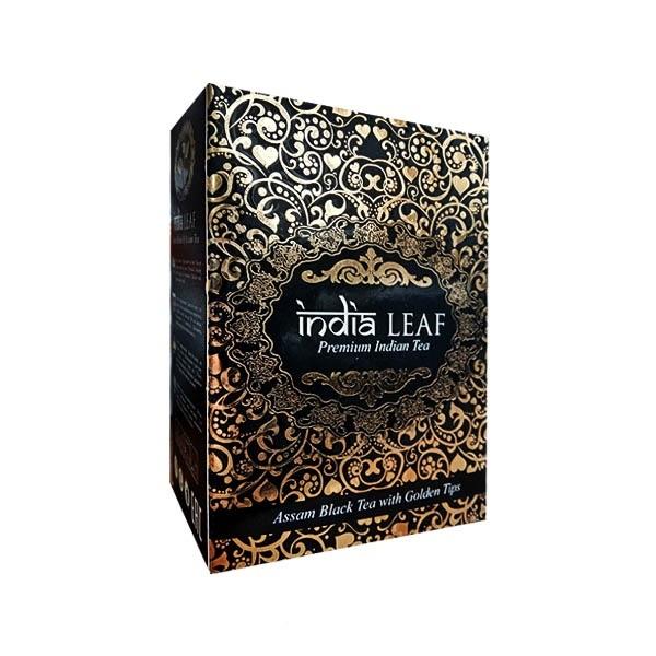 Чай черный India Leaf Assam Golden tips 100 г