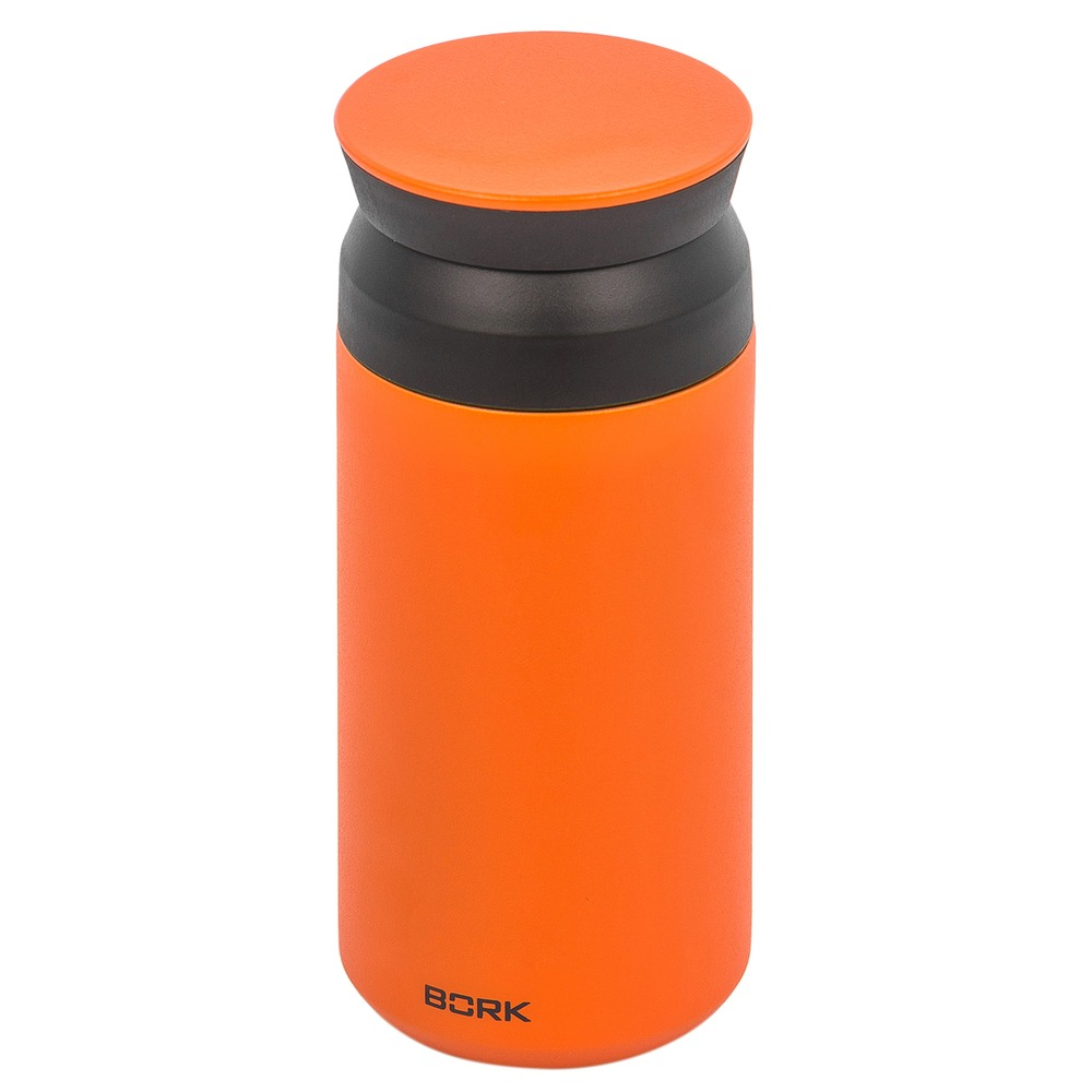 Термокружка Bork Home HT350 оранжевая 350 мл