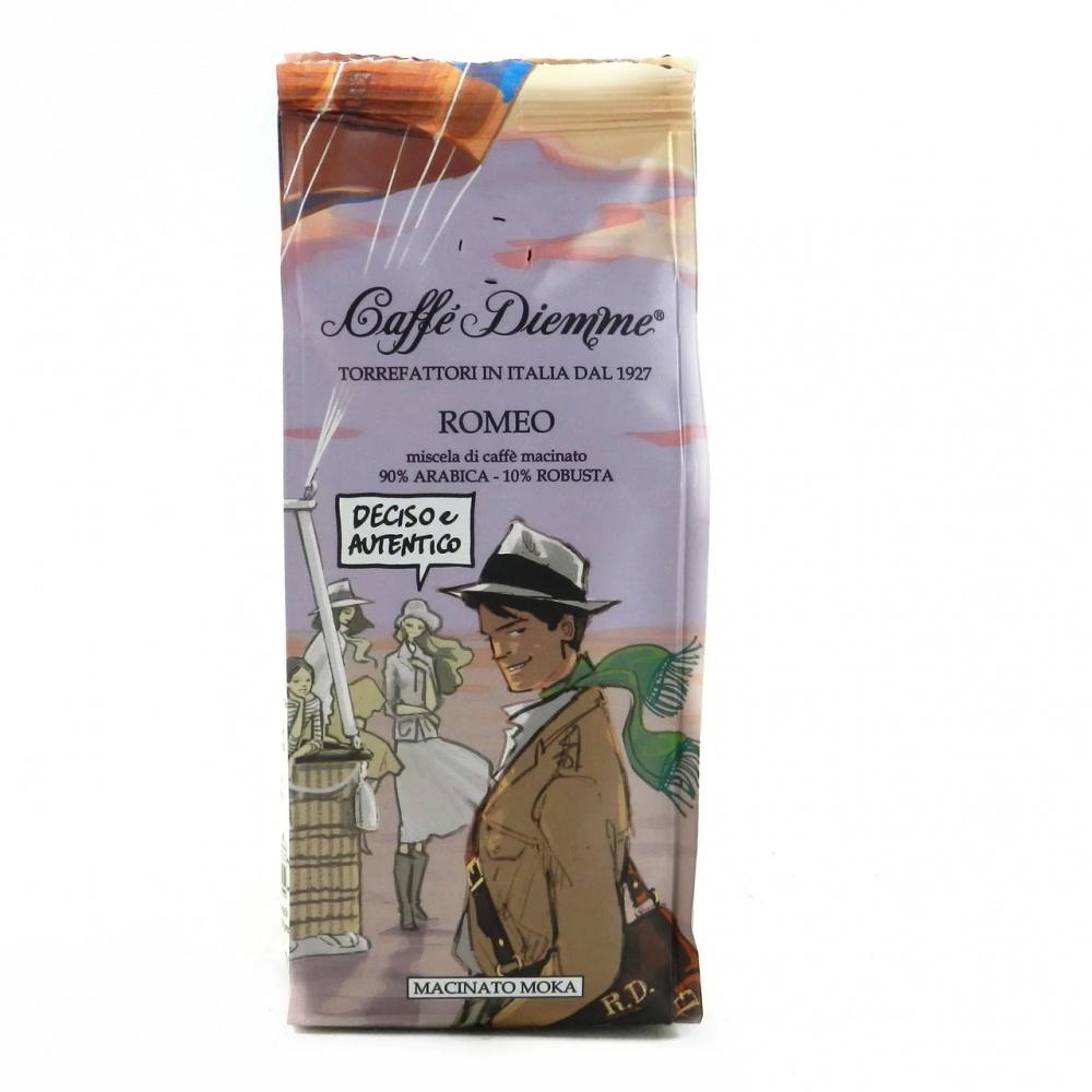 Кофе молотый Caffe Diemme Blend Romeo 200 г кофе индийский молотый espresso blend hindica 200 г
