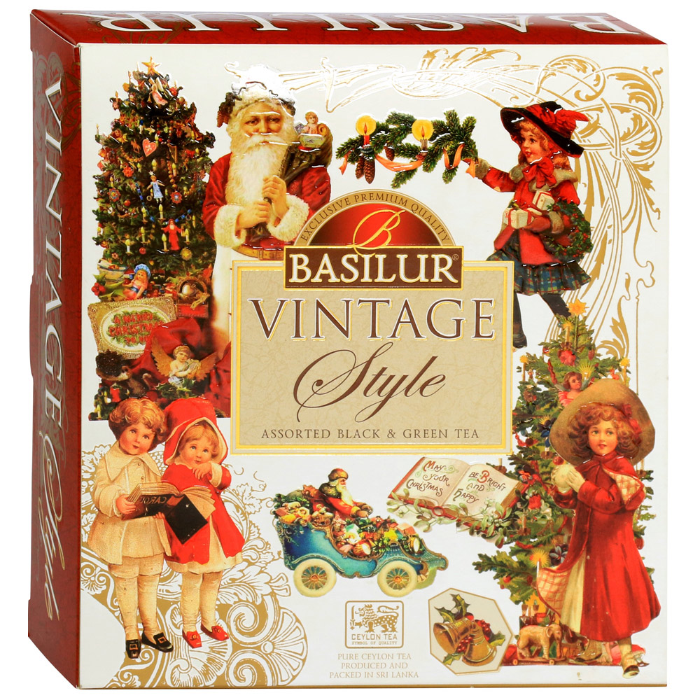 Чай ассорти Basilur Vintage Assorted 40х1,8 г