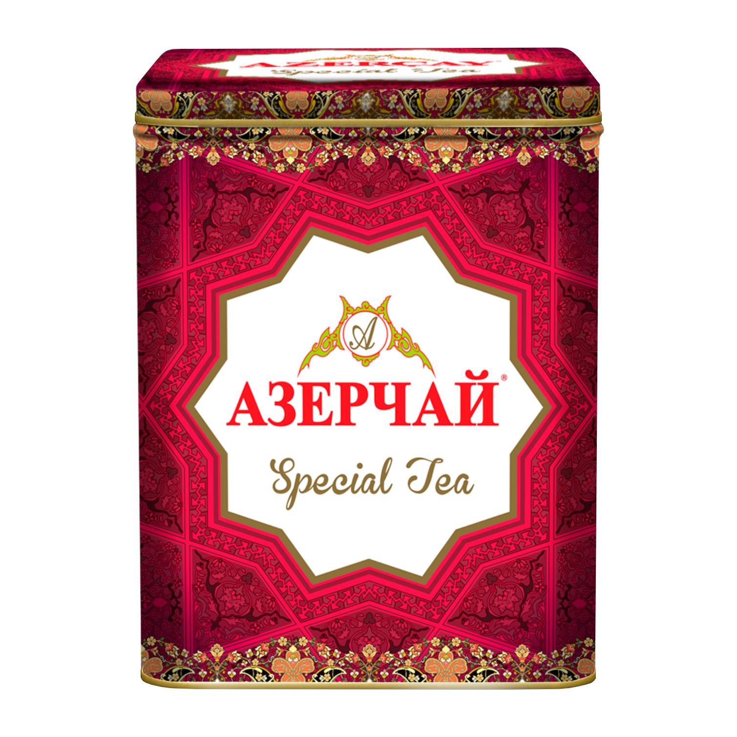 Фото - Чай Черный Азерчай Специальный Красный 200 г чай черный азерчай специальный с белым узором 200 г
