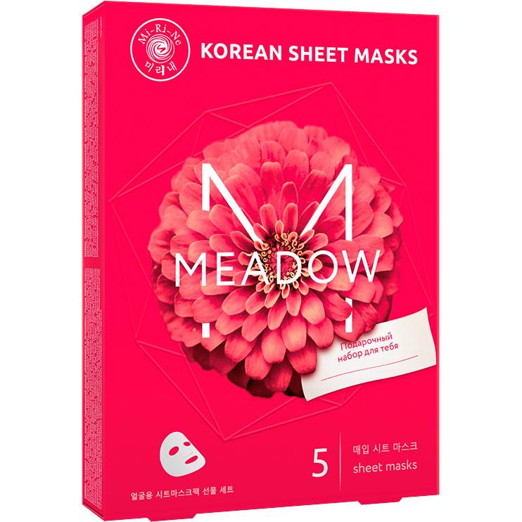 Подарочный набор тканевых масок Mi-Ri-Ne Meadow недорого