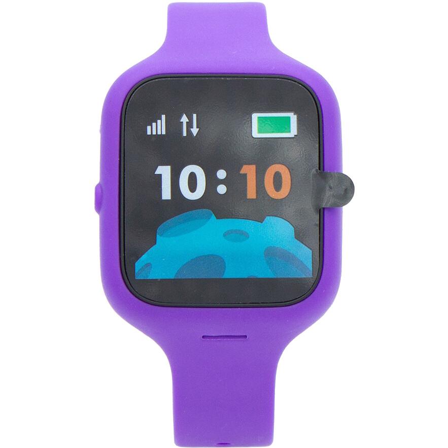 Умные часы WOCHI X с чипом Москвенок violet