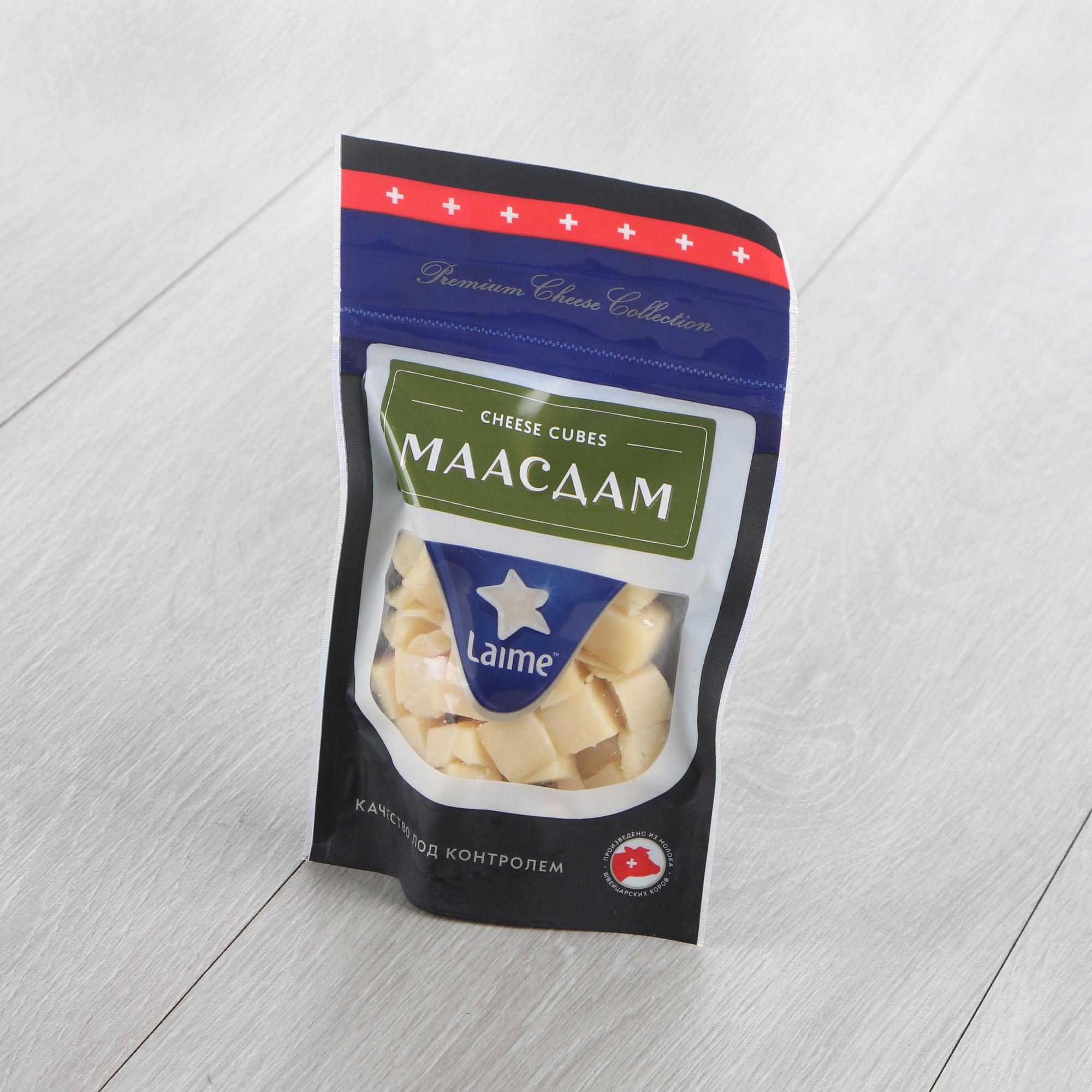 Фото - Сыр Laime Маасдам полутвердый 45% 125 г сыр полутвердый белебеевский мраморный 45% 190 г