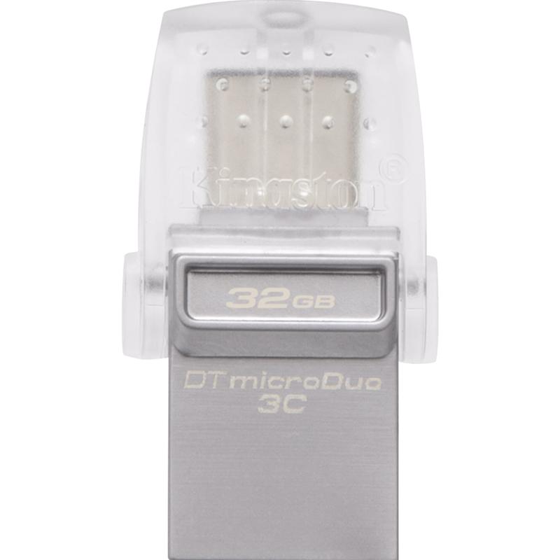 Фото - Флеш-накопитель Kingston DataTraveler MicroDuo 3C USB 32 GB 3c matx r839