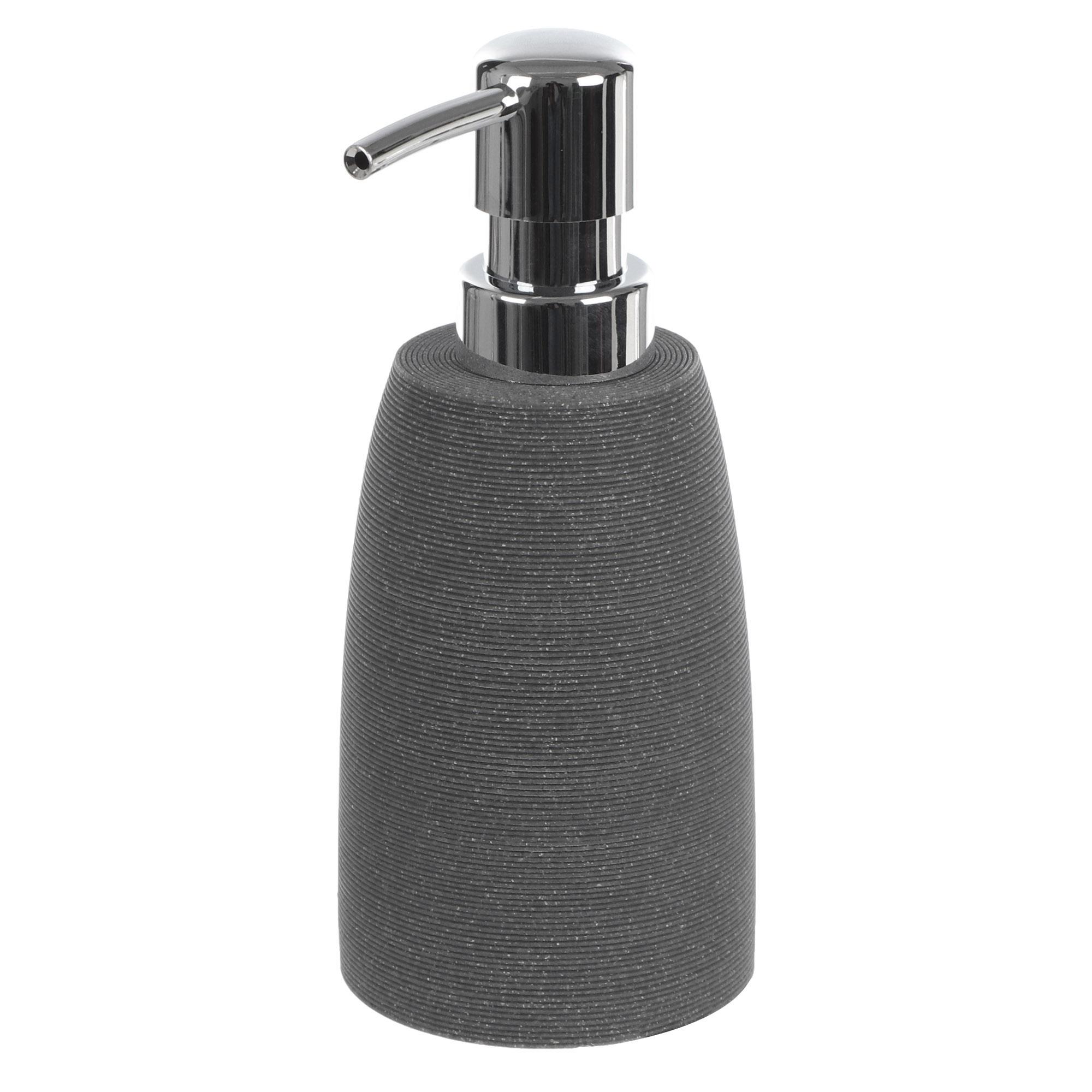 Дозатор для мыла Wenko sanitary goa серый дозатор для мыла wenko sanitary goa бежевый